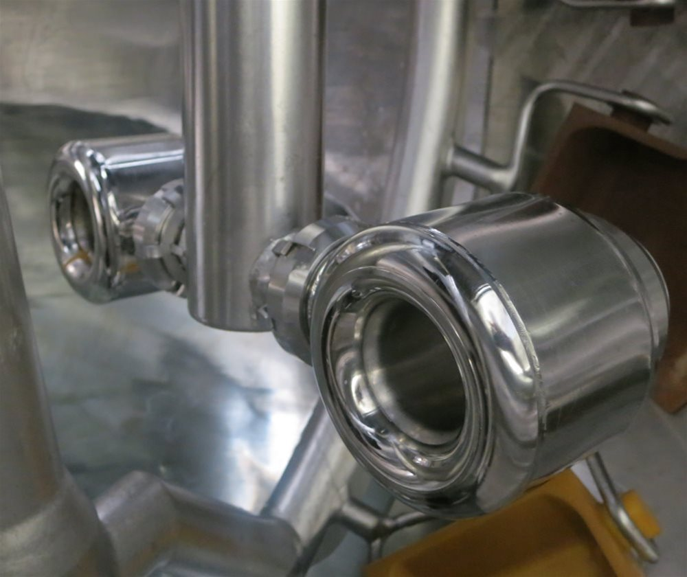 View showing the process of Steam Infusion used within DC Norris Jet Cook™ Steam Infusion Systems.
