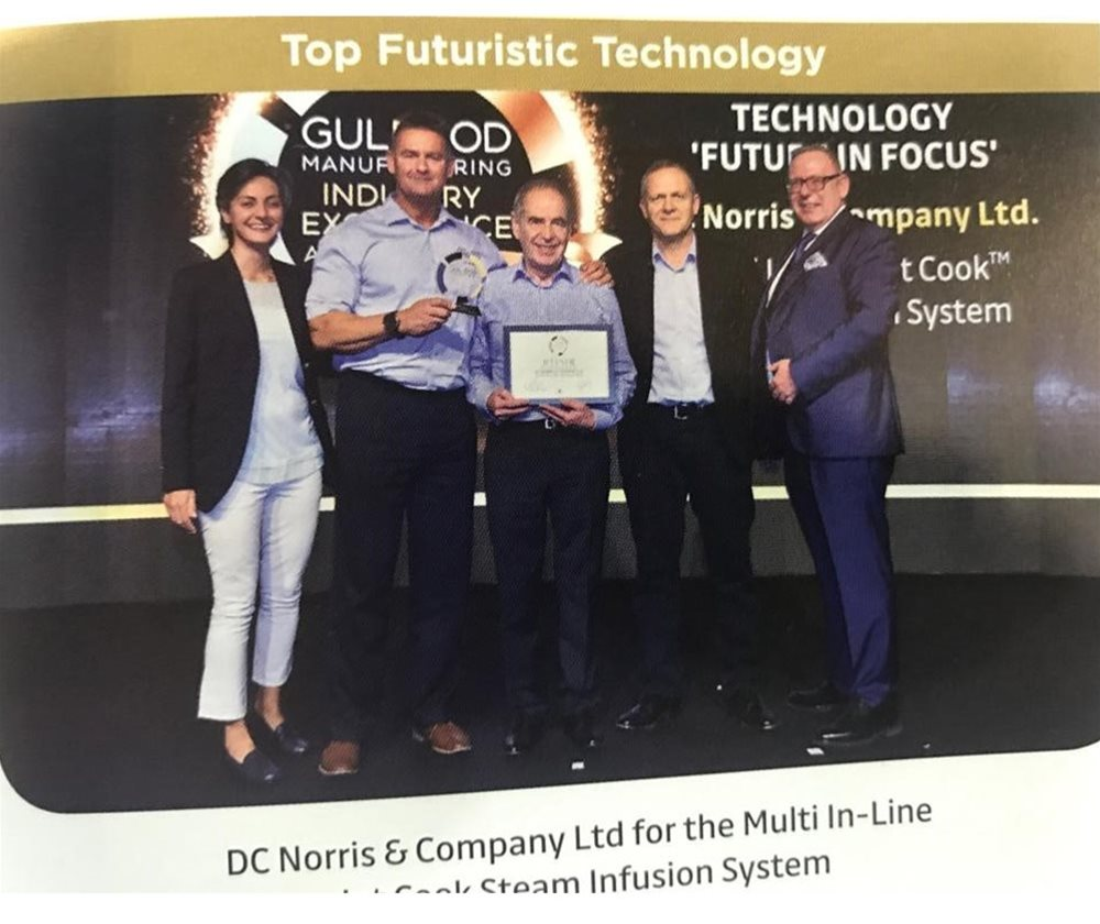 Jet Cook™ Wins Top Futuristic Technology at Gulfood
